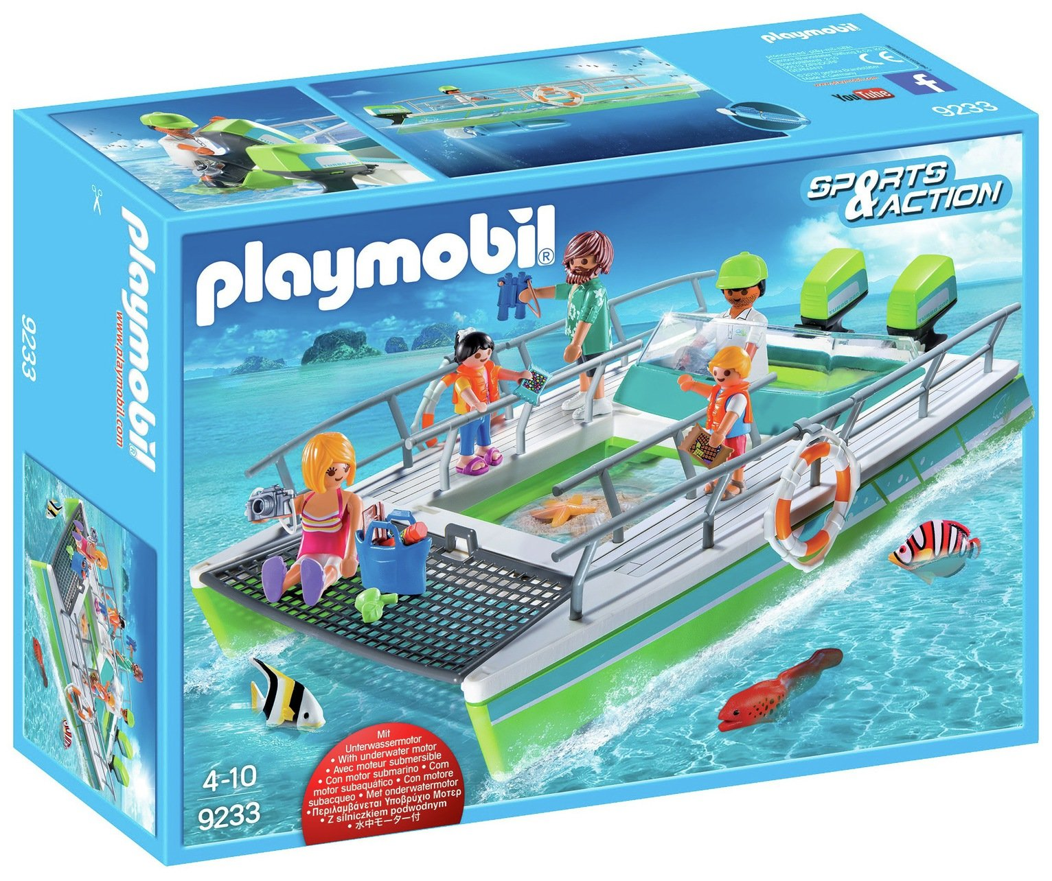 Playmobil 9233 Sports & Action Glass Bottom Boat