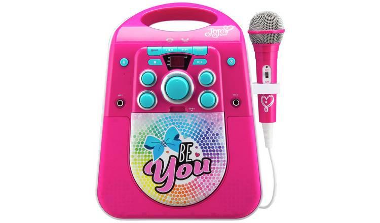 Buy Jojo Siwa Bluetooth CDG Karaoke Machine with Microphone   Karaoke  machines   Argos