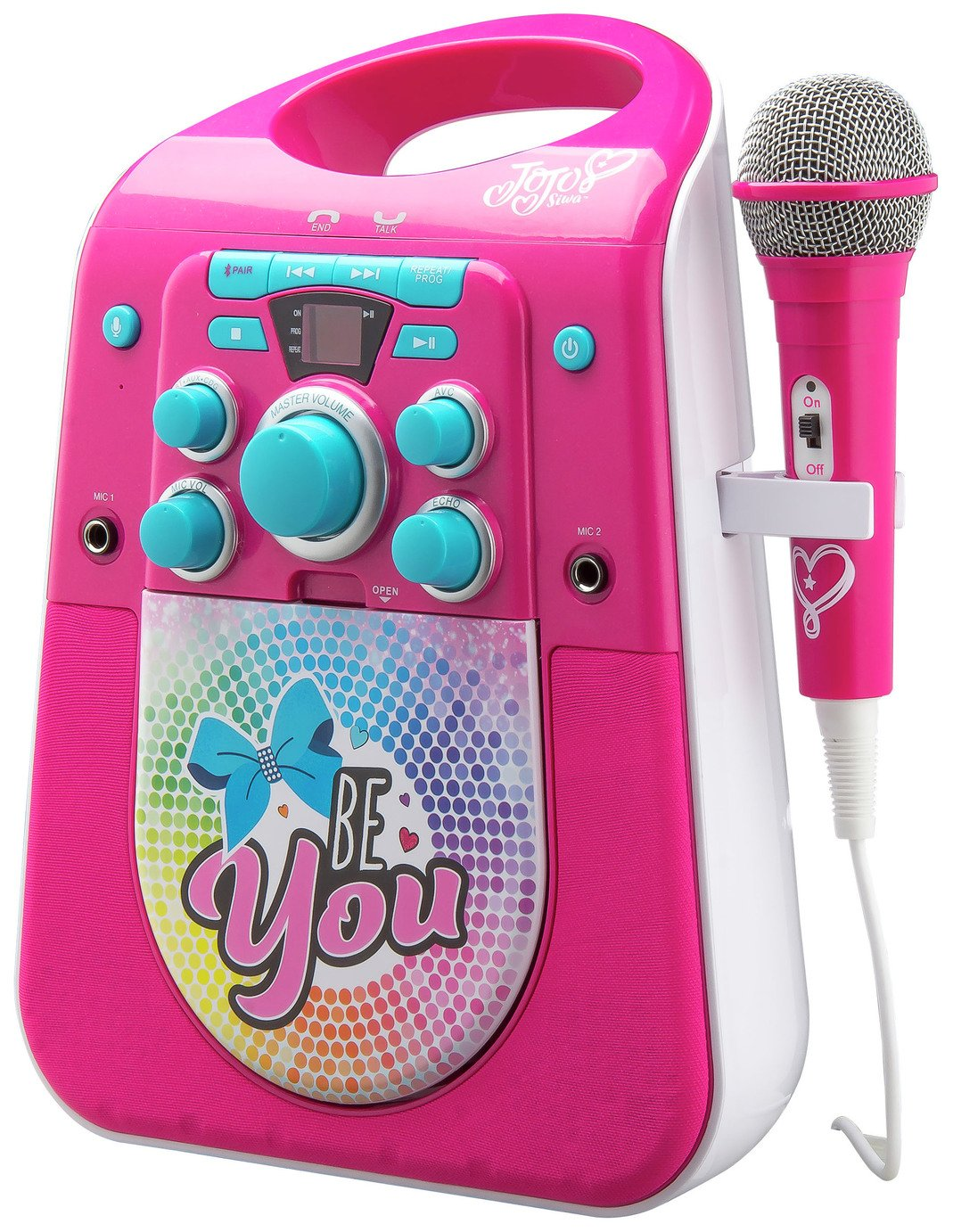 Jojo Siwa Bluetooth CDG Karaoke Machine with Microphone ...