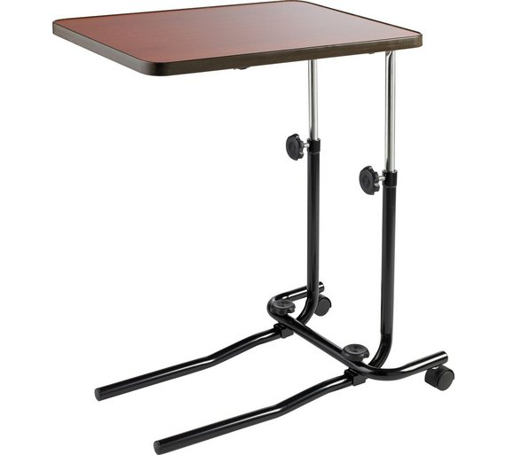 Buy adjustable overbed table with tilt facility at argos for Sofa table argos