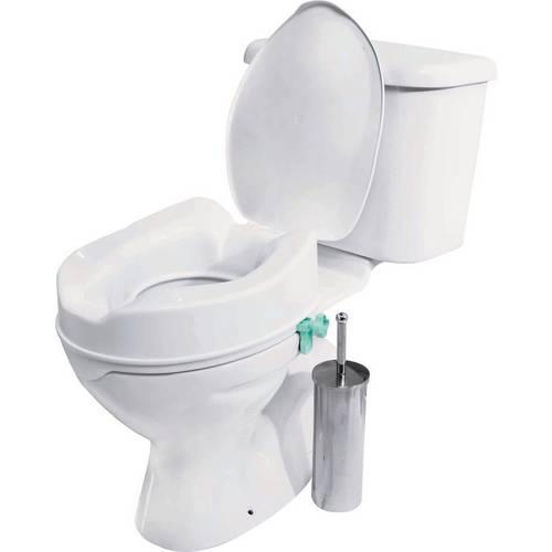 Miraculous Buy Raised Toilet Seat With Lid Raised Toilet Seats Argos Creativecarmelina Interior Chair Design Creativecarmelinacom