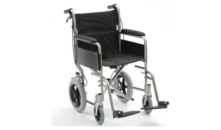Drive DeVilbiss Lightweight Aluminium Transit Wheelchair
