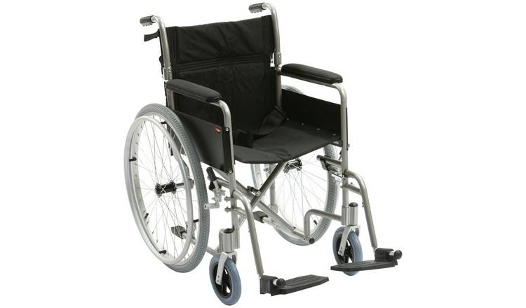 Drive DeVilbiss Aluminium Self Propelled Wheelchair