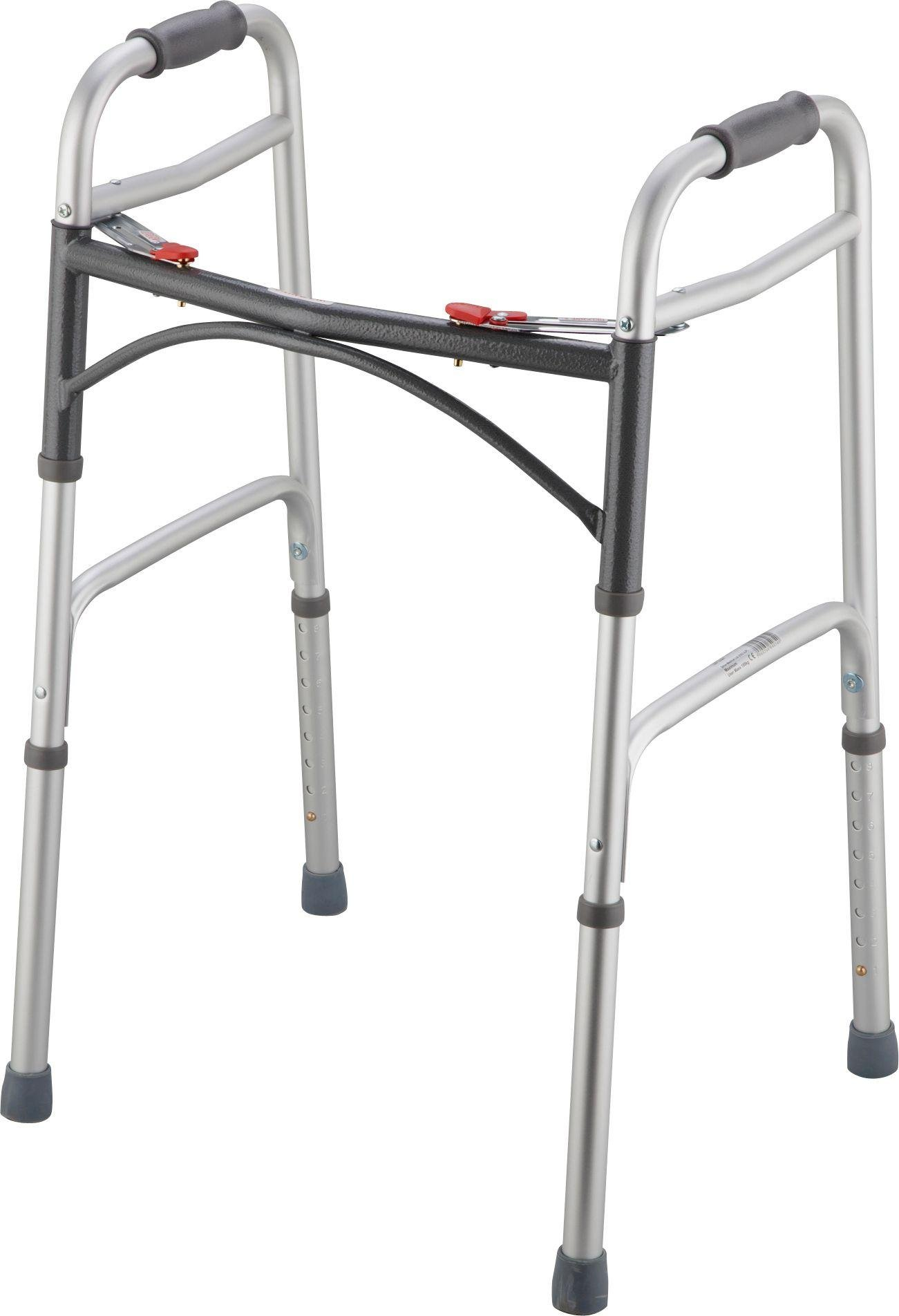 Folding Walking Frame - Height Adjustable.