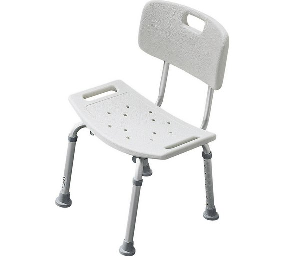 Health And Beauty Aids: Buy Shower Seat With Backrest At Argos.co.uk