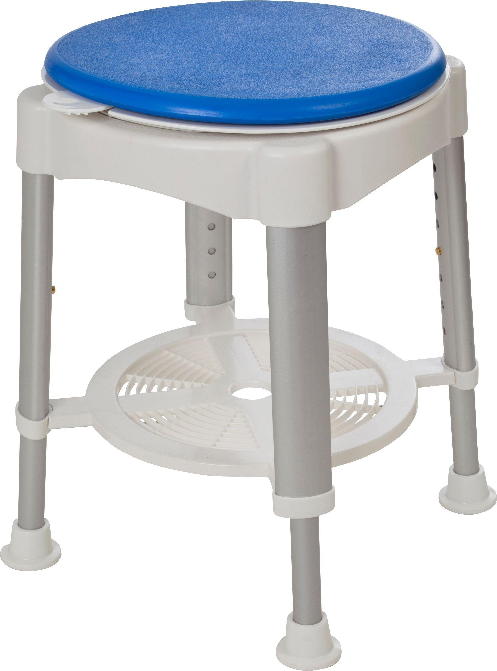 round shower stool rotating seat - Shower Stool