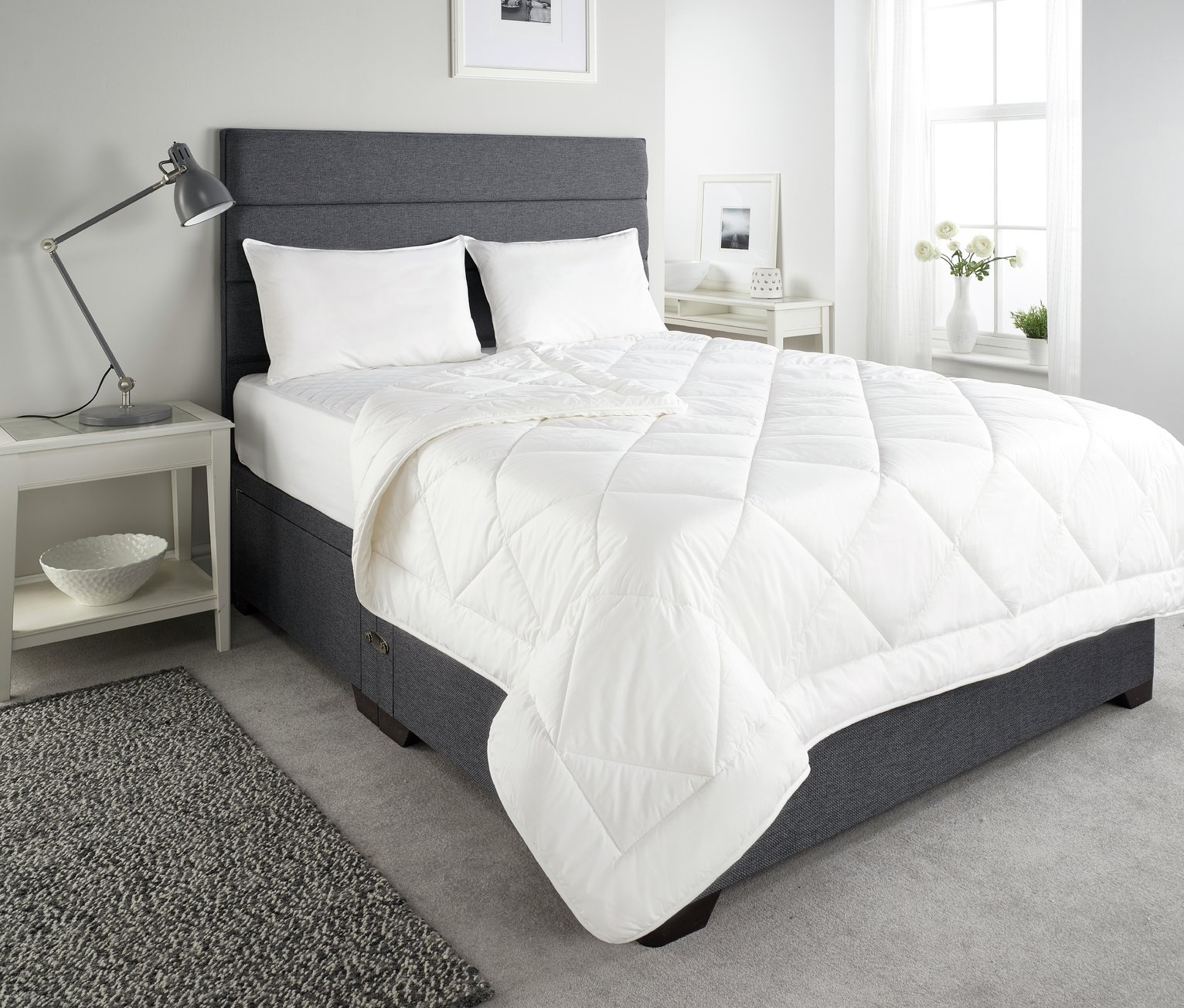 Downland Wool Quilt - Double