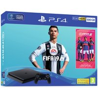 Sony PS4 500GB Console and FIFA 19 Bundle