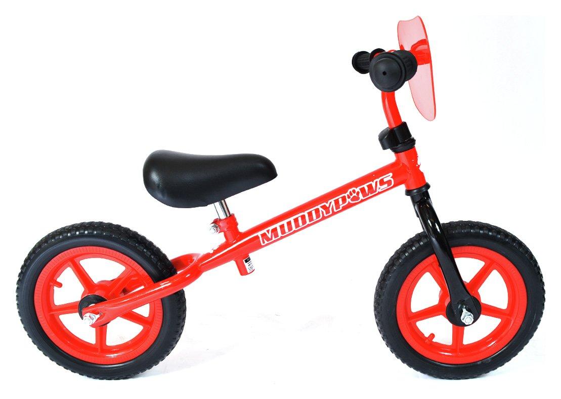 Muddypaws 12 Inch Balance Bike - Red