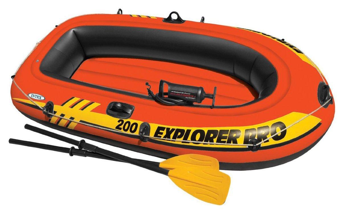 Intex Explorer Pro Inflatable Boat Set