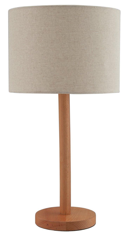 Argos Home Whait Wooden Stick Table Lamp