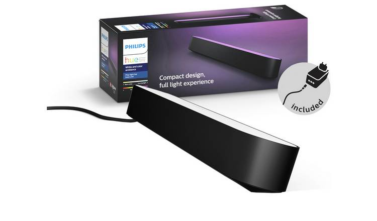 Philips Hue Play Wall Entertainment Light -Single Pack Black
