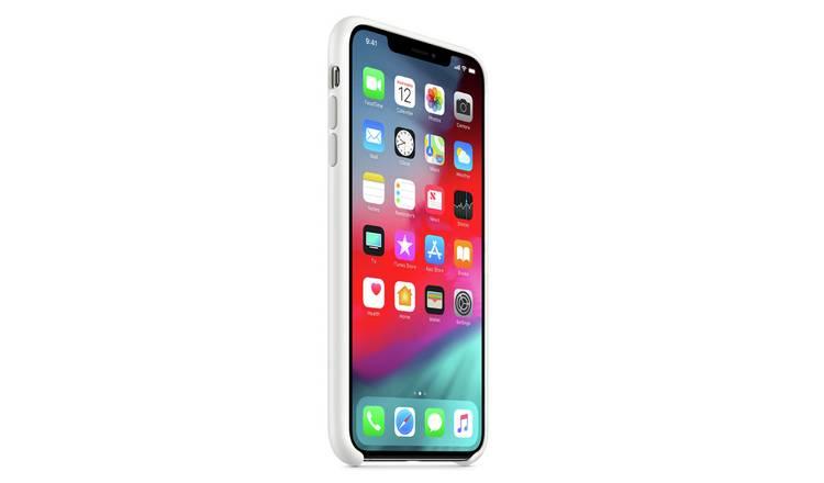 Cover Smartphone e iPhone - APPLE iPhone XS Silicone Case - White
