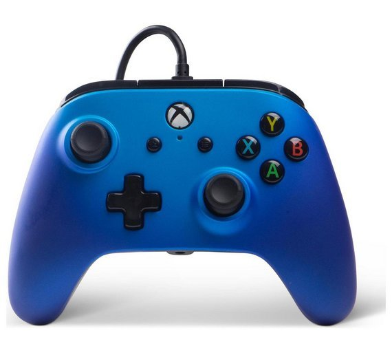 Enhanced Wired Controller for Xbox One - Sapphire Fade