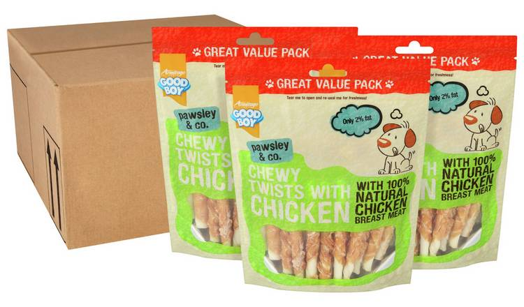 Good Boy Chicken Twisters 320g x 3