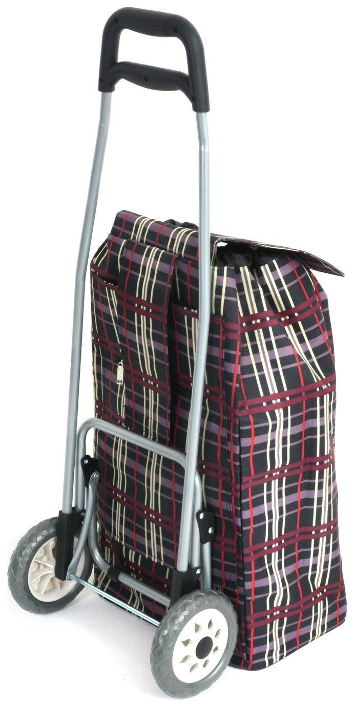 0981aba8726 Shopping Trolley - Check Print (6206176) | Argos Price Tracker |  pricehistory.co.uk