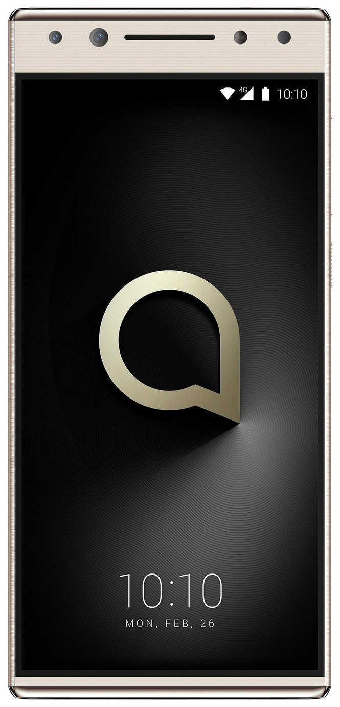 SIM Free Alcatel 5 32GB Mobile Phone - Gold