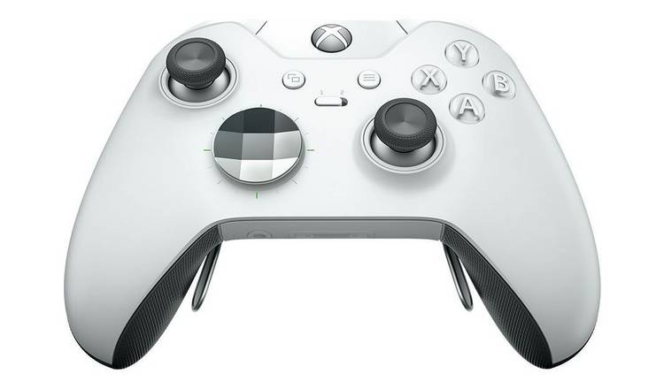 Buy Xbox Elite Special Edition Wireless Controller - White | Xbox One  controllers and steering wheels | Argos