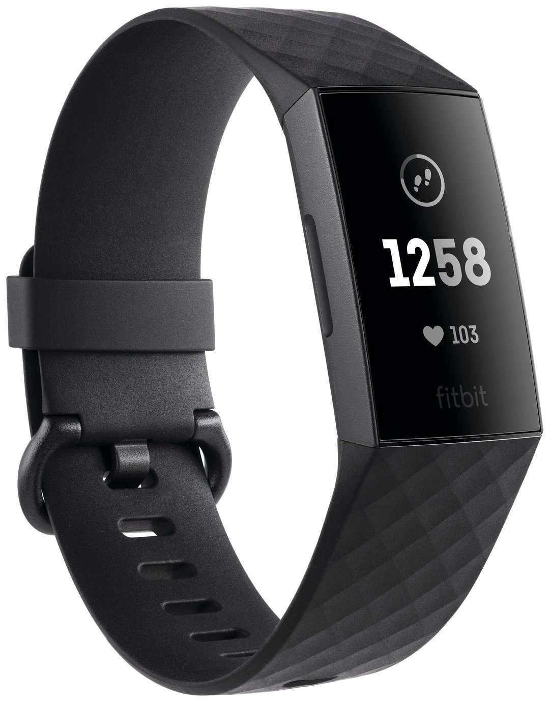 Fitbit Charge 3 Fitness Tracker - Graphite Black