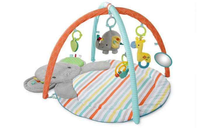 Buy Bright Starts Hug N Cuddle Elephant Activity Gym Playmats And