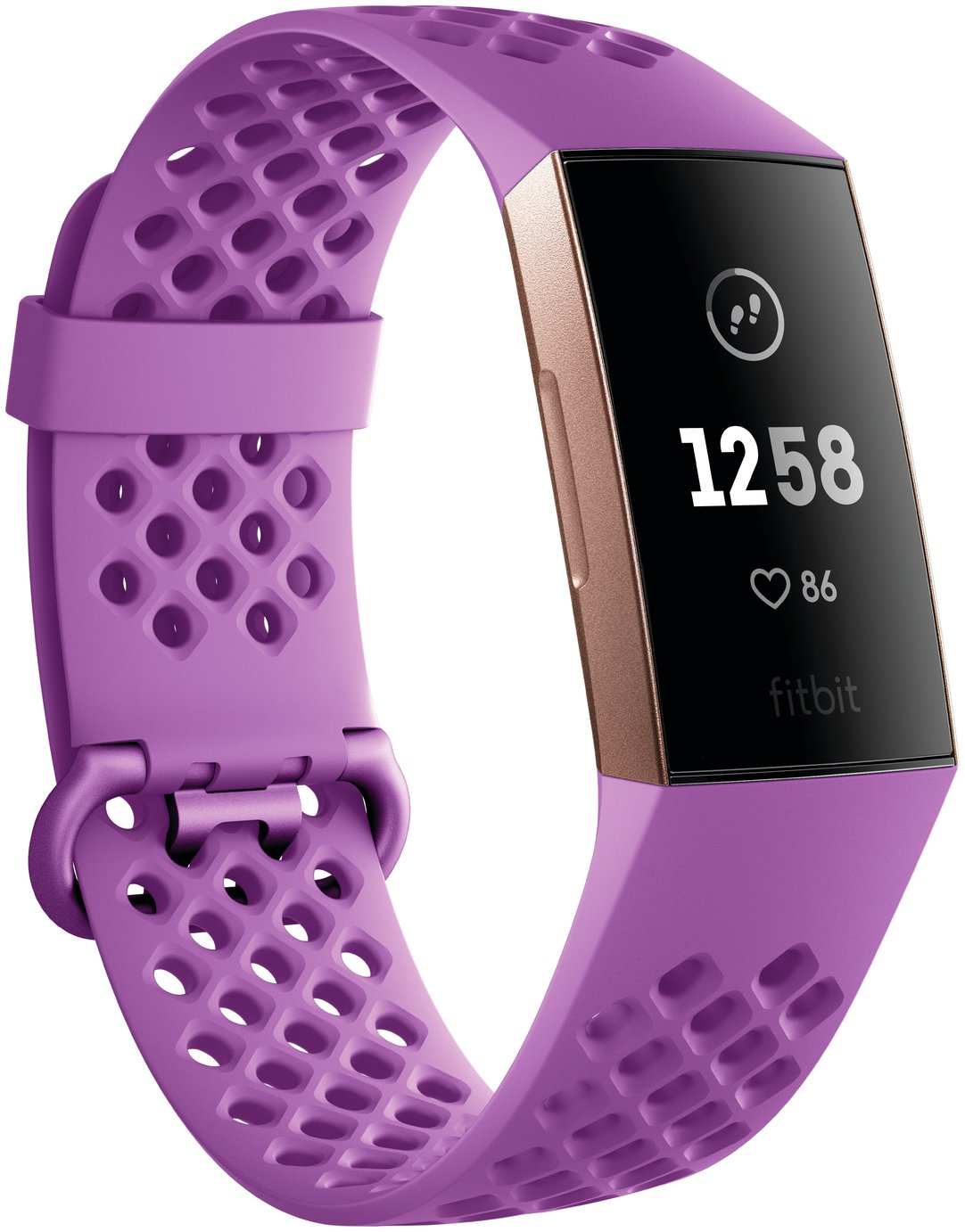Fitbit Charge 3 Fitness Tracker - Berry