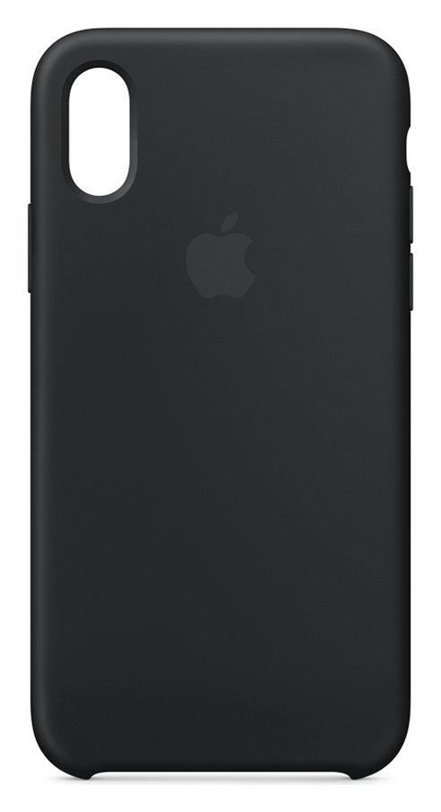 Apple iPhone Xs Max Silicone Phone Case - Black