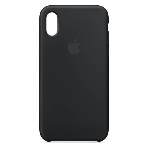 on sale ddf3a 6e94a Buy Apple iPhone Xs Max Silicone Phone Case - Black | Mobile phone cases |  Argos