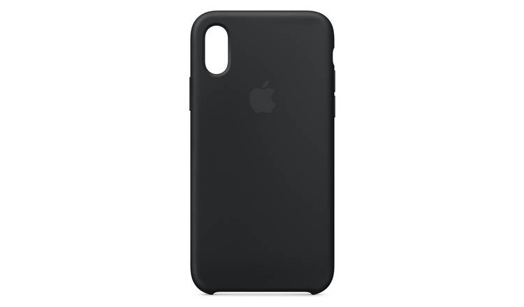 Apple iPhone Xs Max Silicone Phone Case - Black