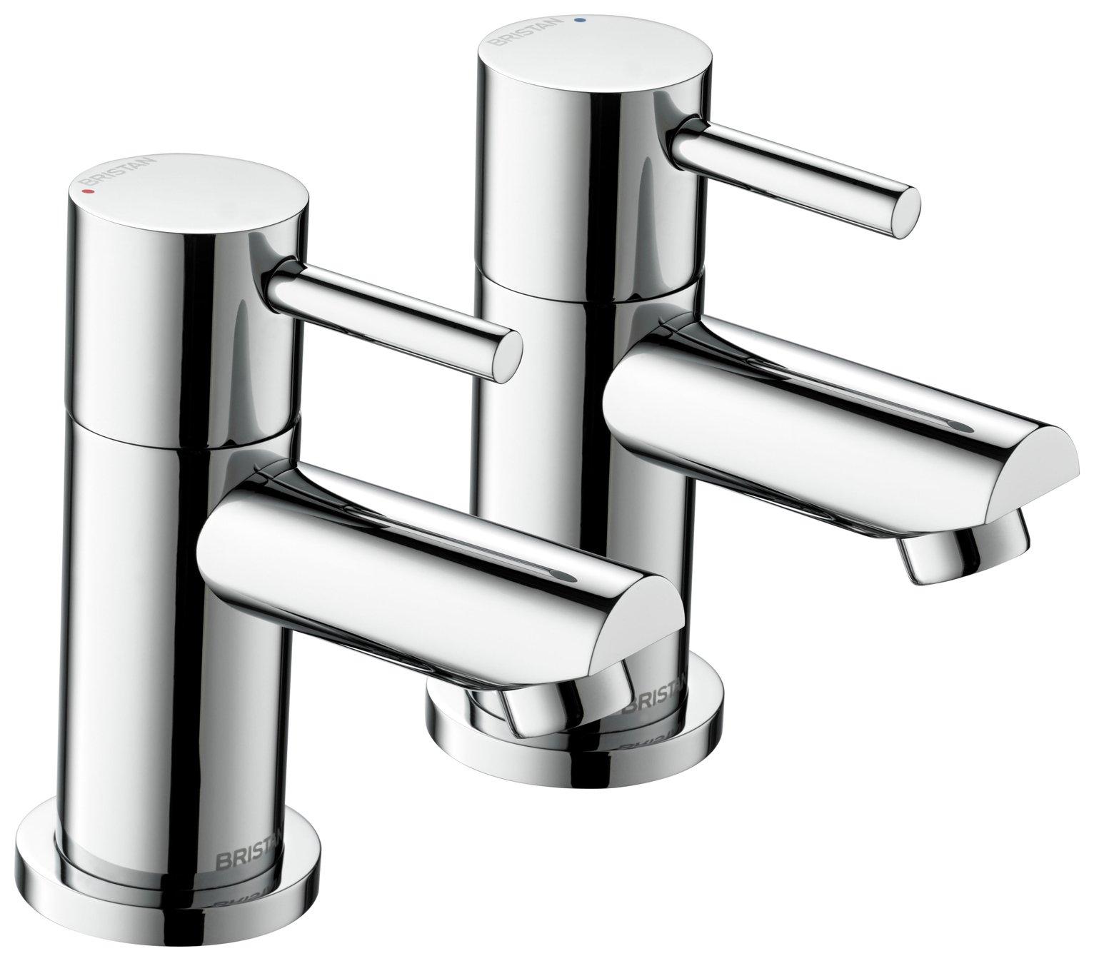 Bristan Blitz Bath Taps - Chrome