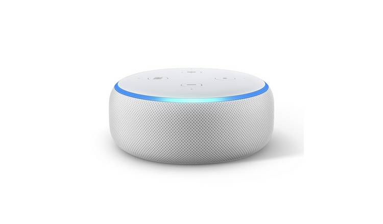 Amazon Echo Dot Smart Speaker with Alexa - White