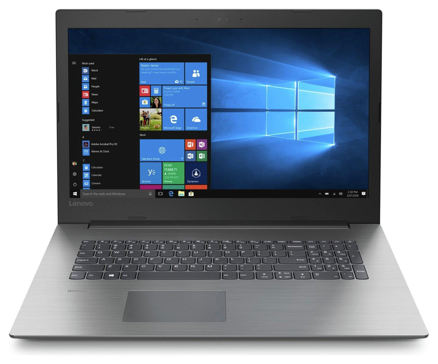 Lenovo IdeaPad 330 17.3 Inch AMD A6 8GB 1TB Laptop - Black