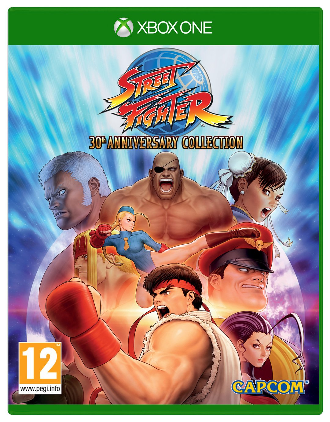 Street Fighter 30th Anniversary Edition Xbox One Game