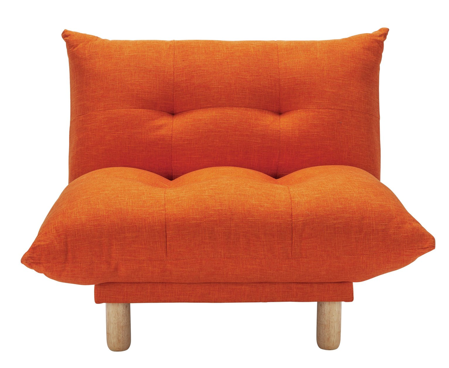 Habitat Kota Fabric Armchair - Orange