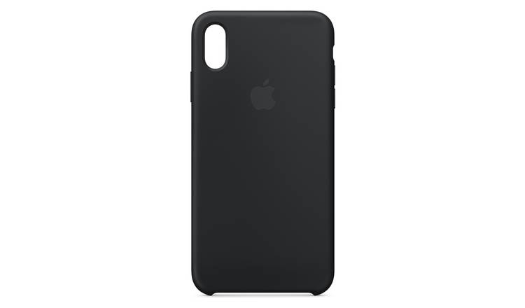 Apple iPhone Xs Silicone Phone Case - Black
