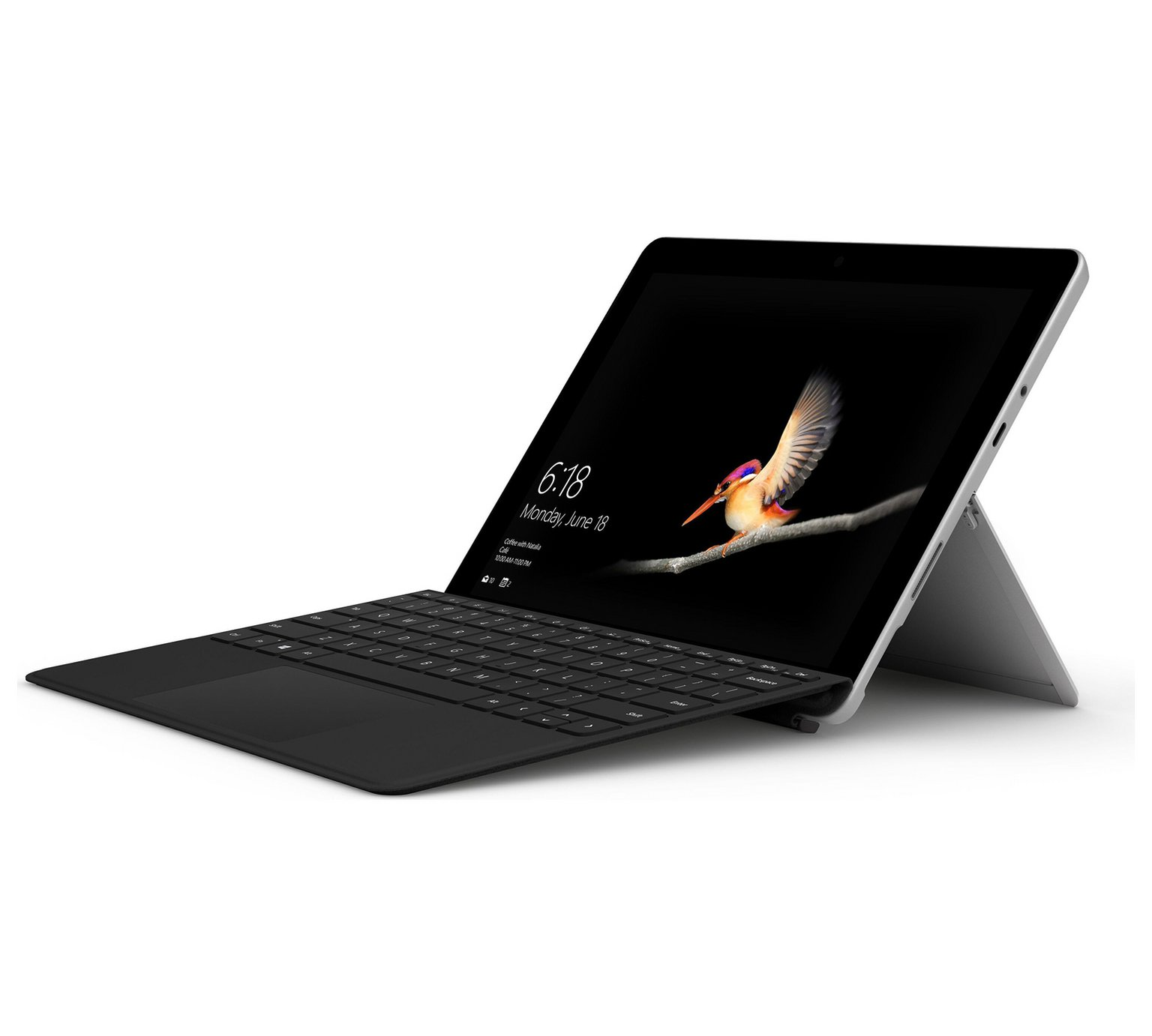 Microsoft Surface Go 8GB 128GB 2-in-1 Laptop with Type Cover