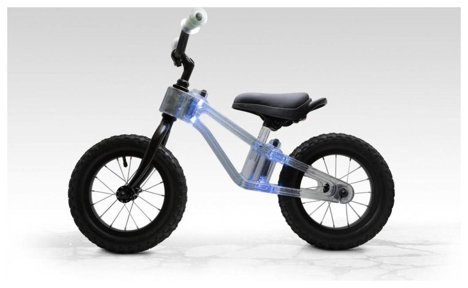 Phantom 12 Inch Clear Blue Balance Bike