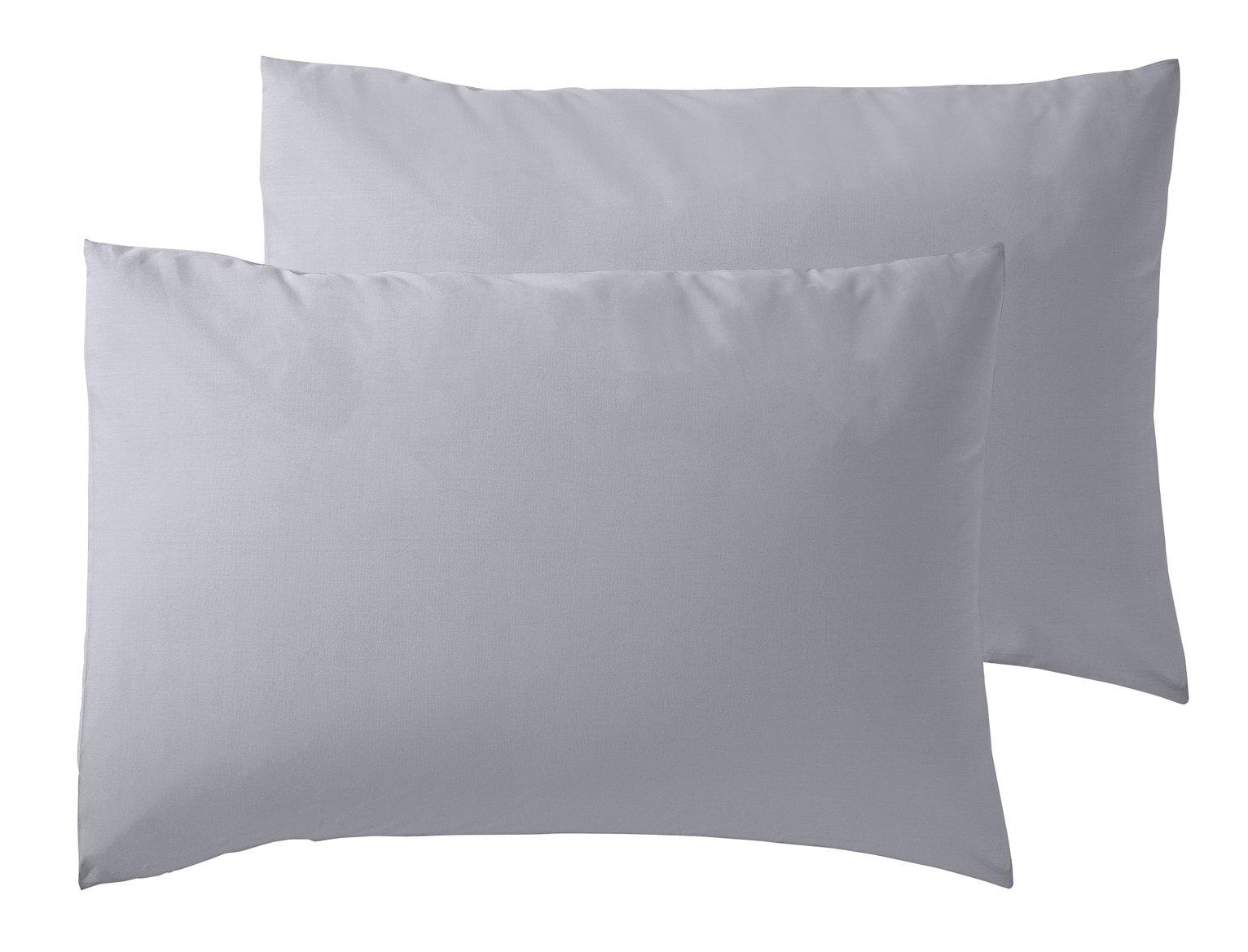 Argos Home Cool Cotton Standard Pillowcase Pair