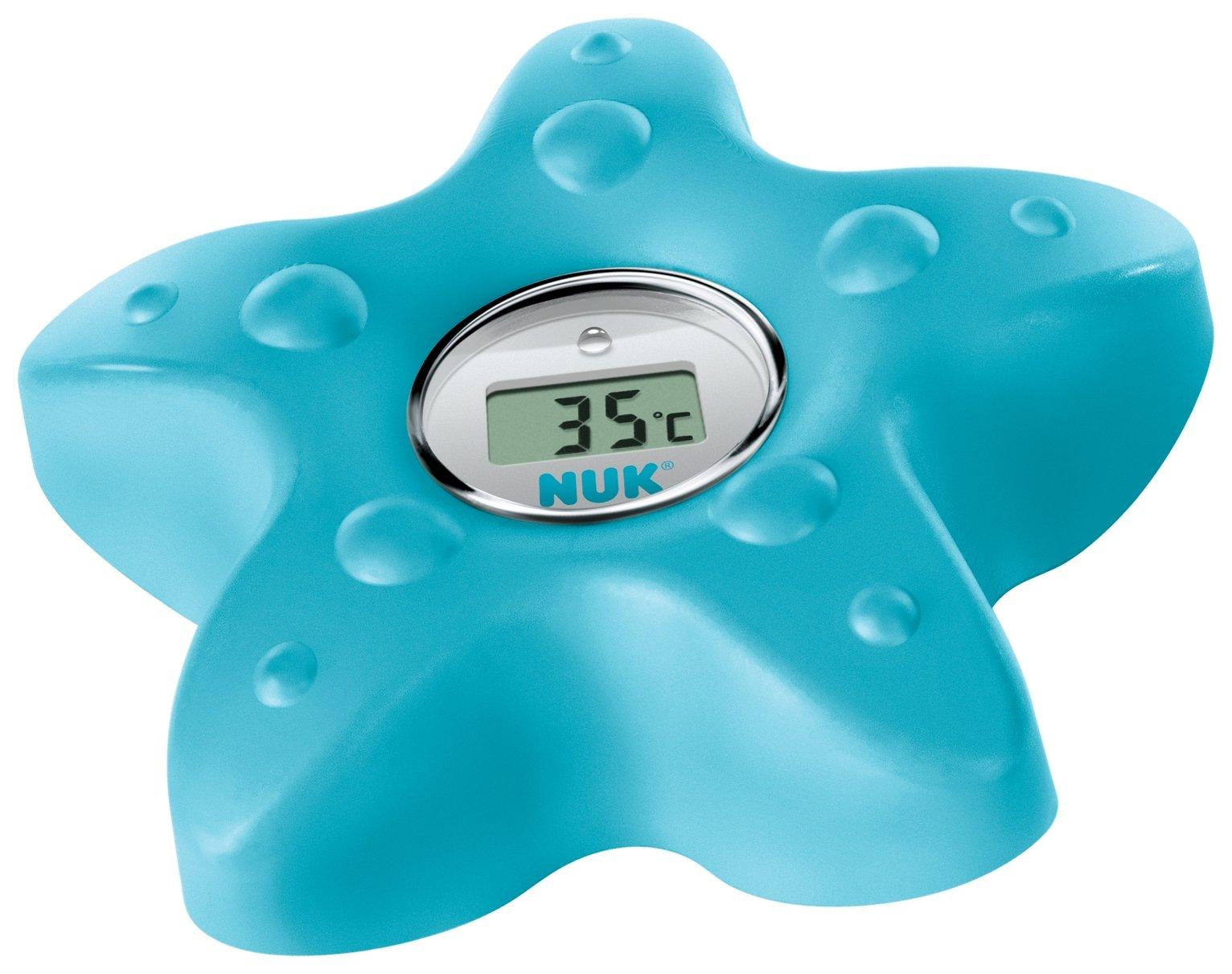 NUK Digital Bath Thermometer - Blue