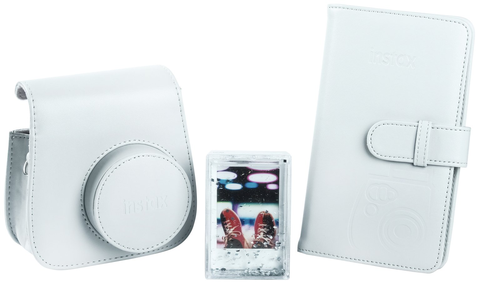 Instax Mini 9 Accessory Kit - Smokey White