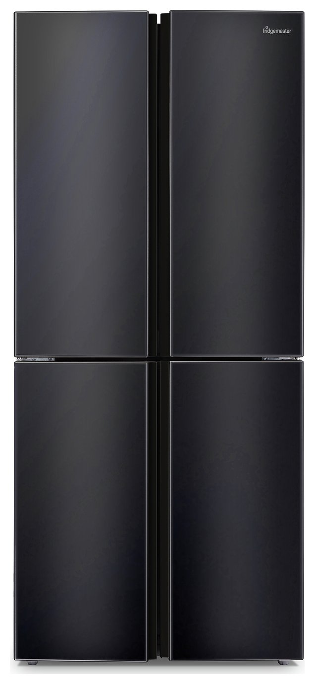 Fridgemaster MQ79394FFB Fridge Freezer - Black
