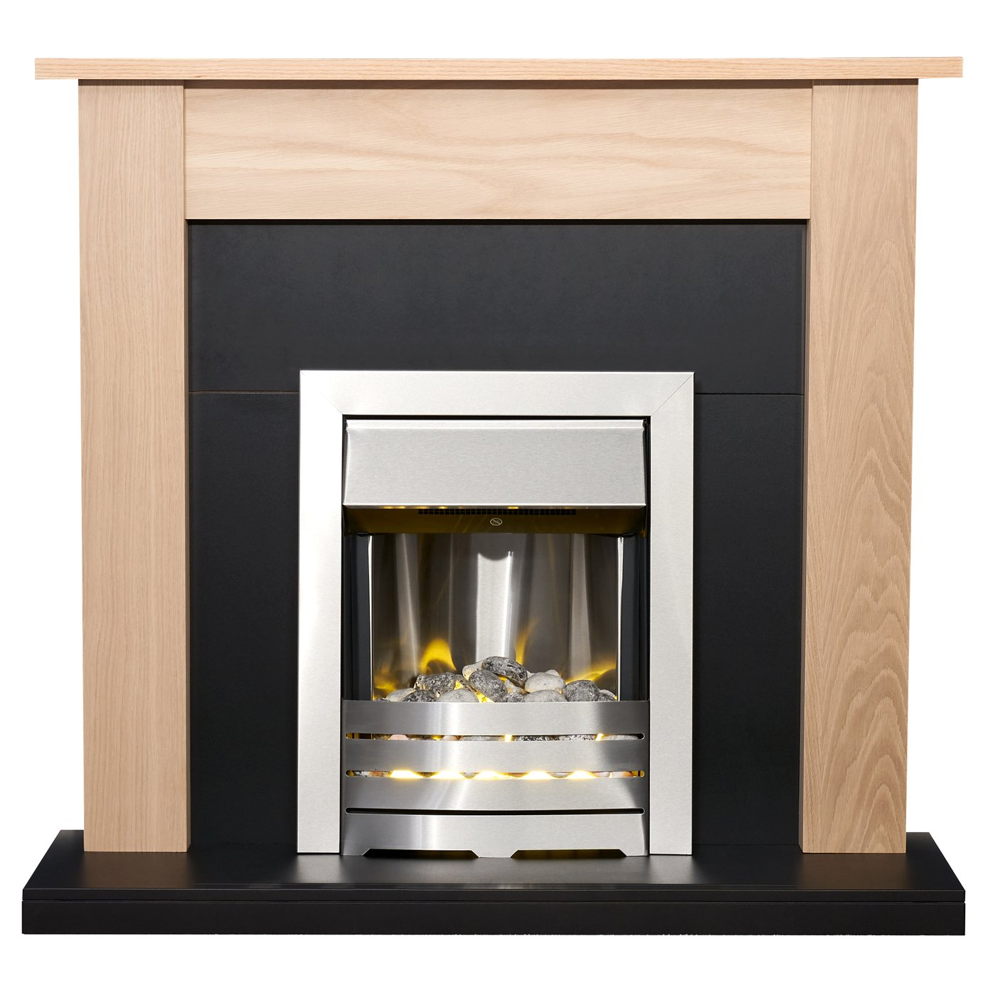 Adam Southwold Surround with Helios 2kW Electric Fire Suite