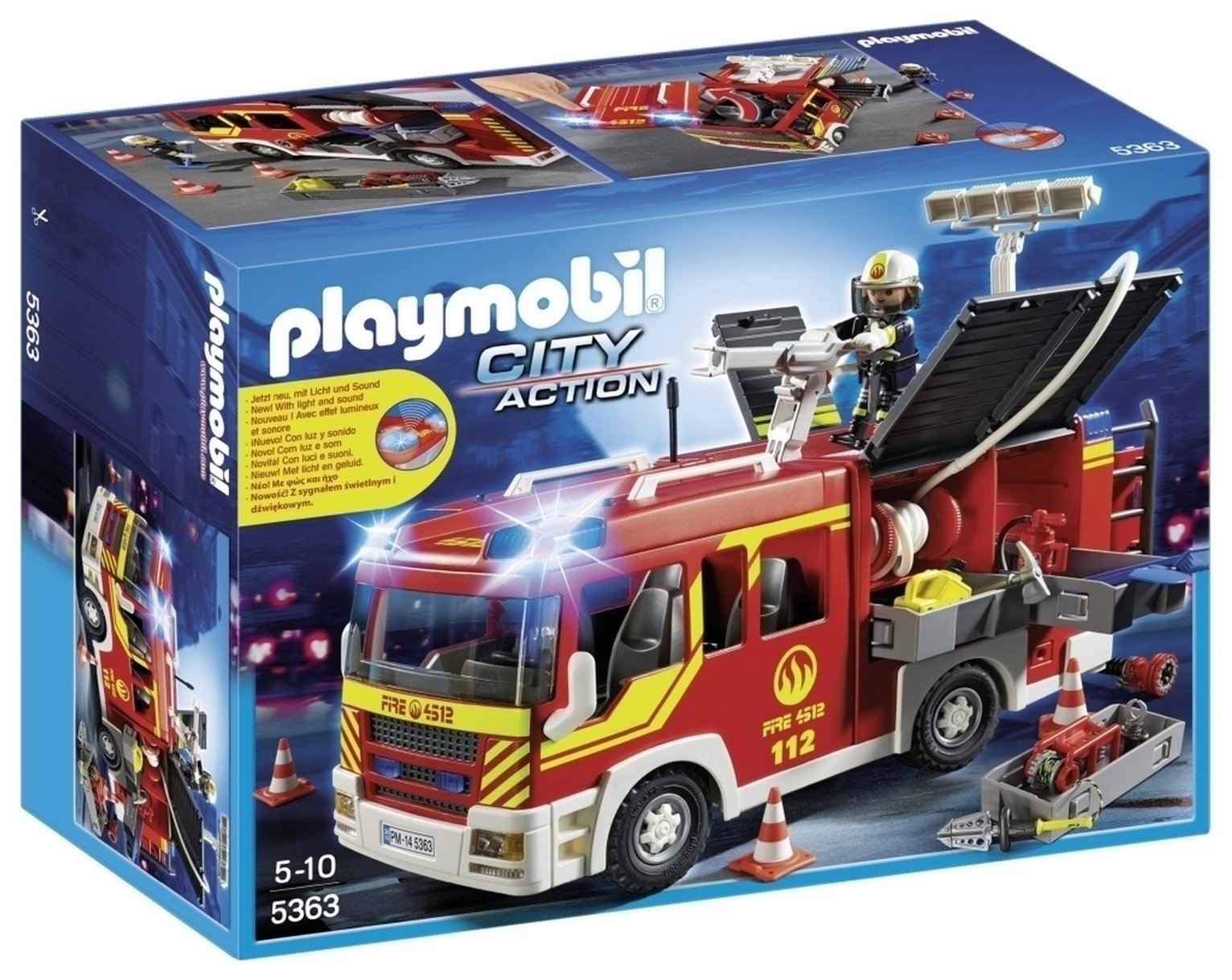 Playmobil 5363 City Action Fire Engine
