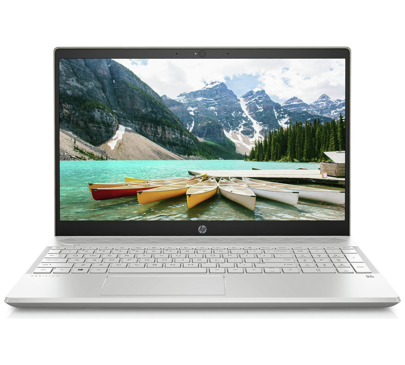 HP Pavilion 15.6 In Ryzen 5 8GB 1TB 128GB FHD Laptop – Gold by HP 865/9642