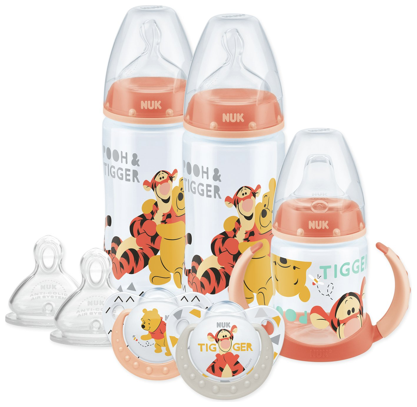 NUK Winnie the Pooh Bottle and Cup Set