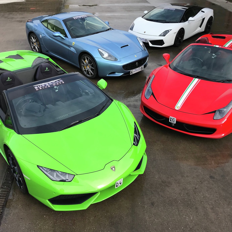 Double Lambo Or Ferrari Gift Experience