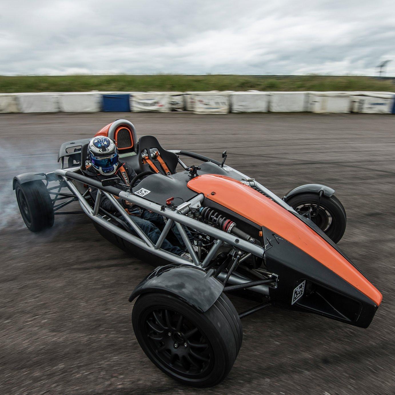 Ariel Atom Thrill High Speed Passenger Ride Gift Experience