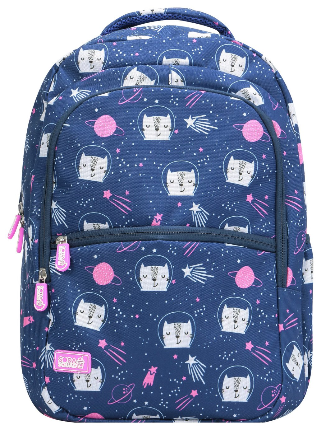 Soda Squad Space Cats 22L Backpack - Blue