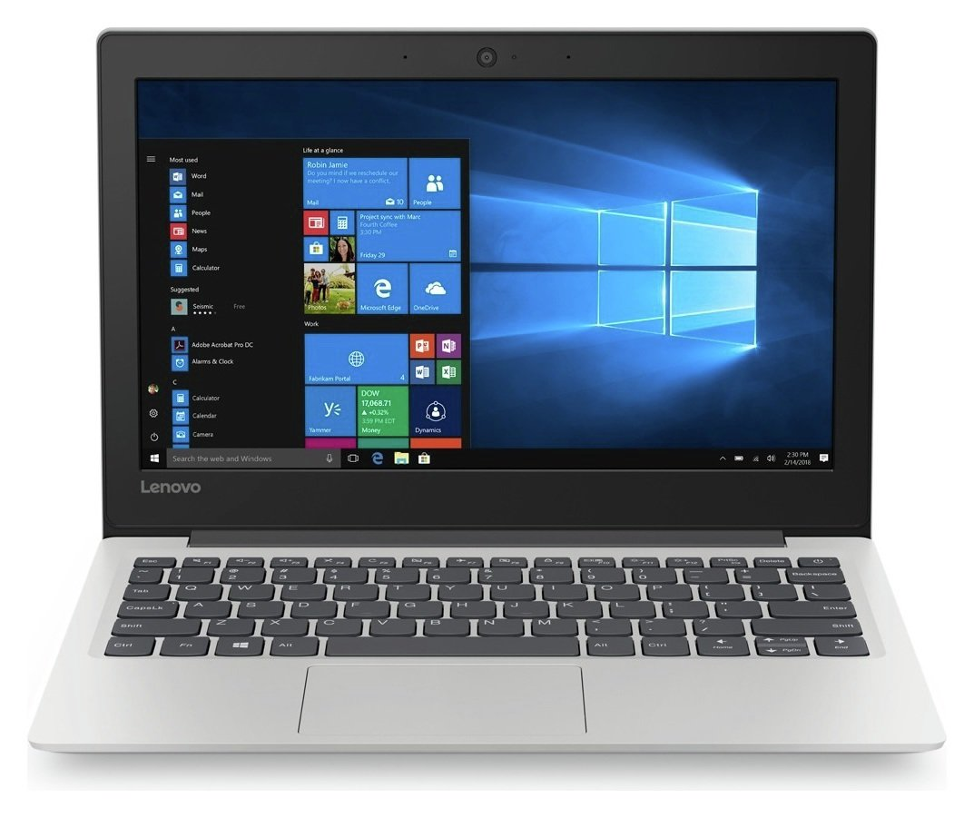 Lenovo Ideapad S130 11.6 In Celeron 4GB 32GB Cloudbook- Grey