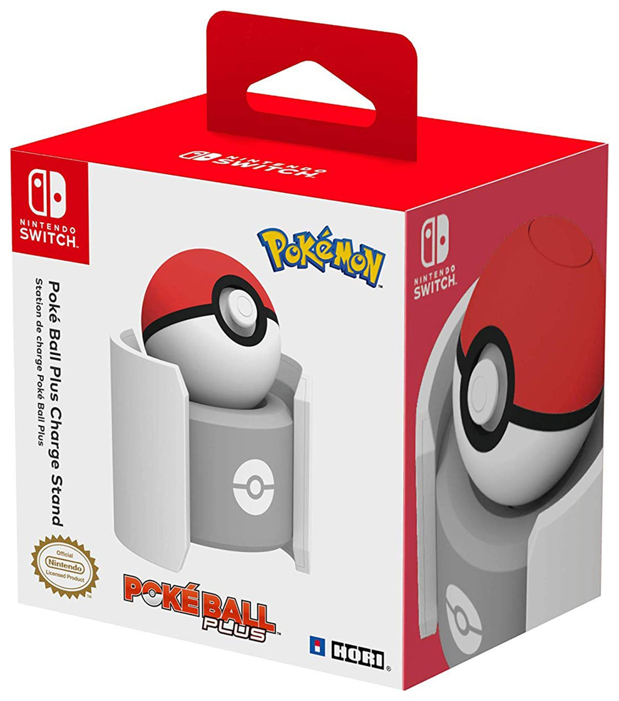 Pokeball Plus Nintendo Switch Controller Charging Stand