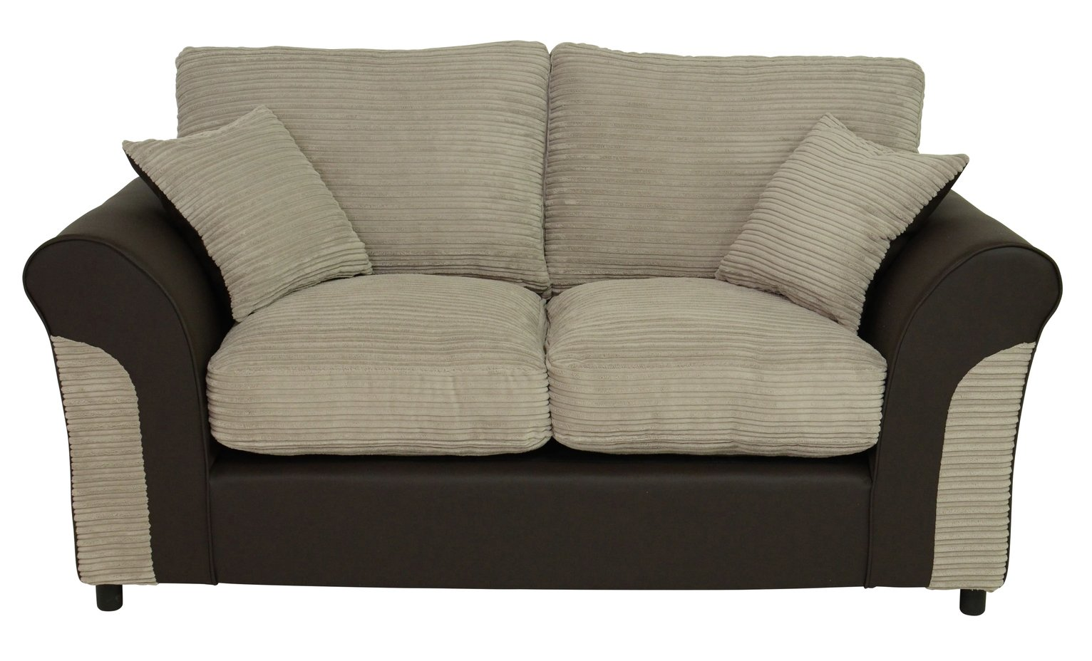 Argos Home Harry 2 Seater Fabric Sofabed - Mink